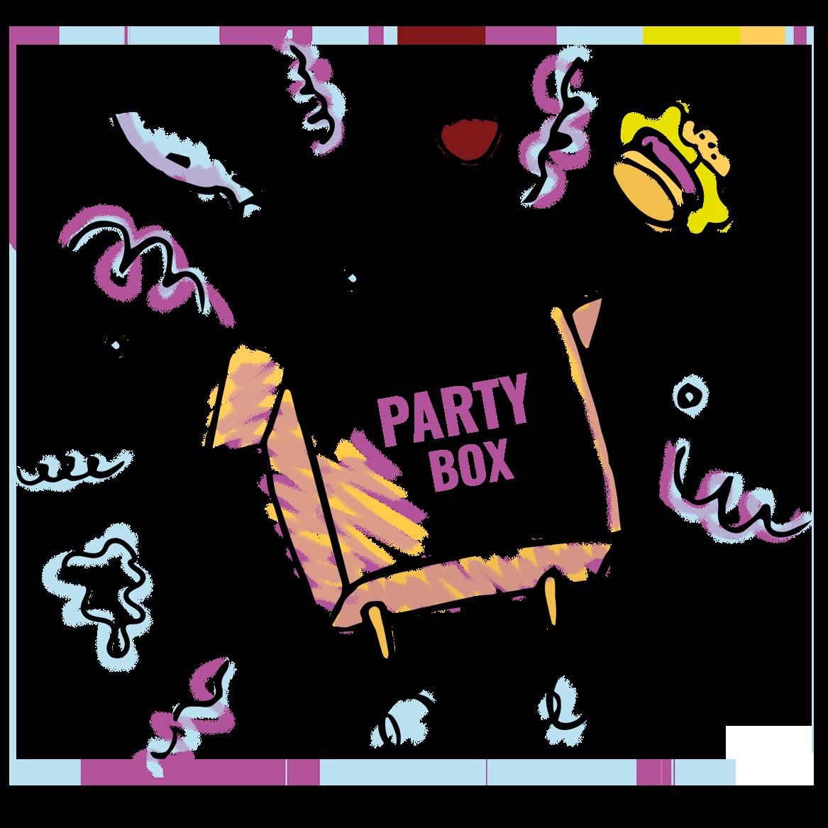 Survo Rentin tarjoama PartyBox-catering.